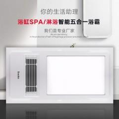 巴迪斯 集成吊顶电器 五合一浴霸 BDS-ZN3060-HZFAD-W 300mm*600mm*118mm